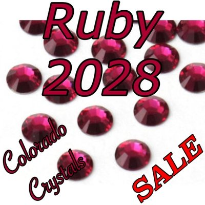 Ruby Clearance Swarovski Flatback Rhinestones 20ss