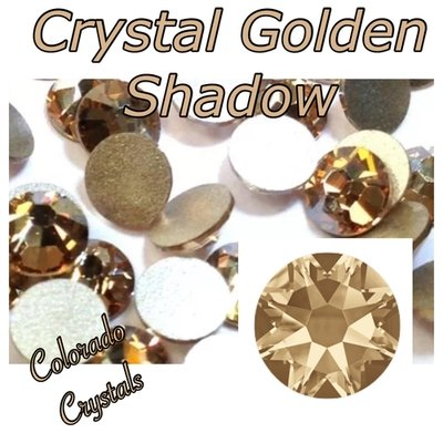 Crystal Golden Shadow 34ss 2088 Rhinestones XIRIUS