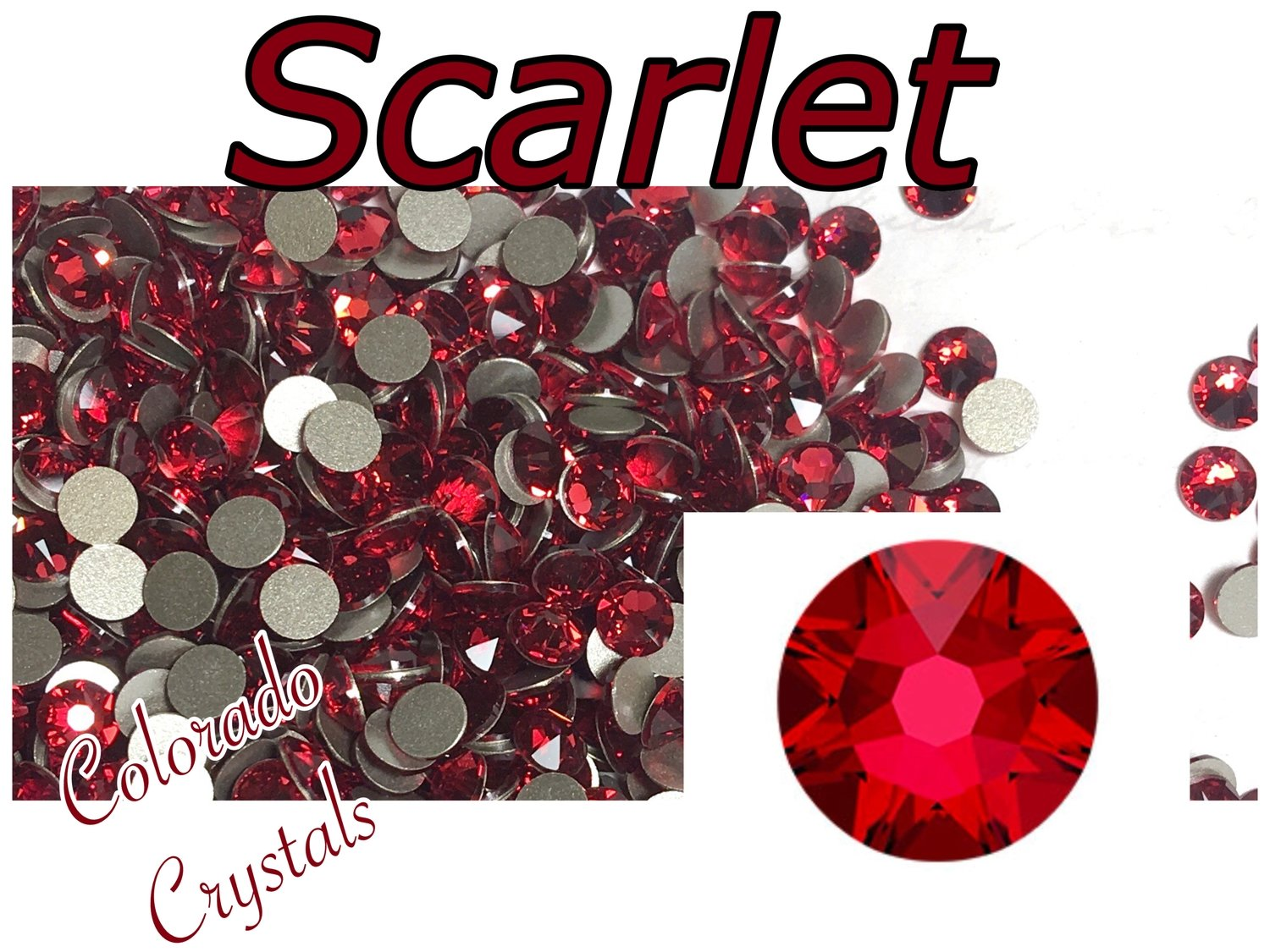 Scarlet 20ss 2088 Limited Swarovski Red Crystals