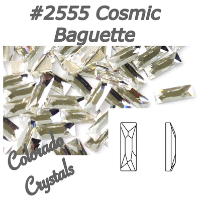 2555 Cosmic Baguette Flatback Swarovski Rhinestones LIMITED