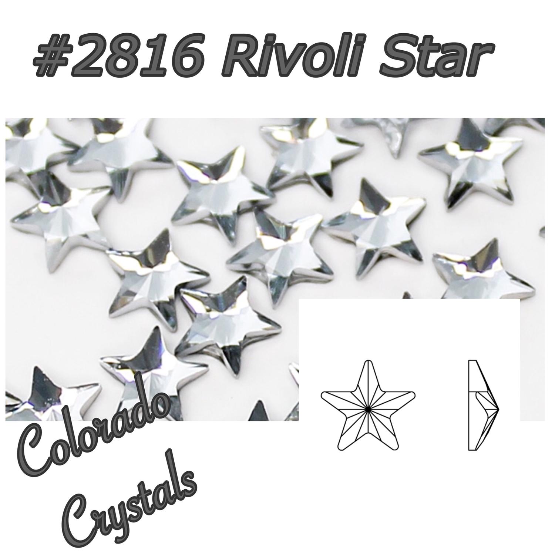 2816 Rivoli Star 5mm Crystal LIMITED