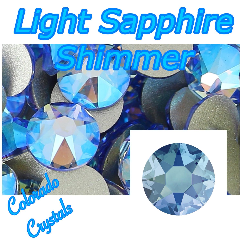 Light Sapphire Shimmer 20ss Limited Swarovski Rhinestones