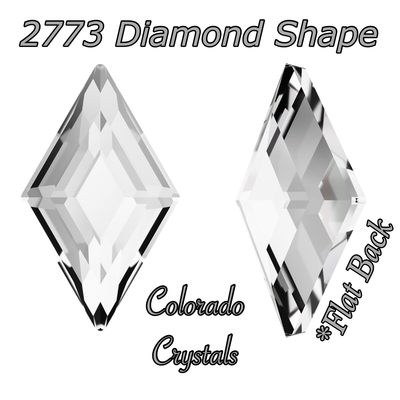 2773 Diamond Shape Crystal 5x3mm LIMITED