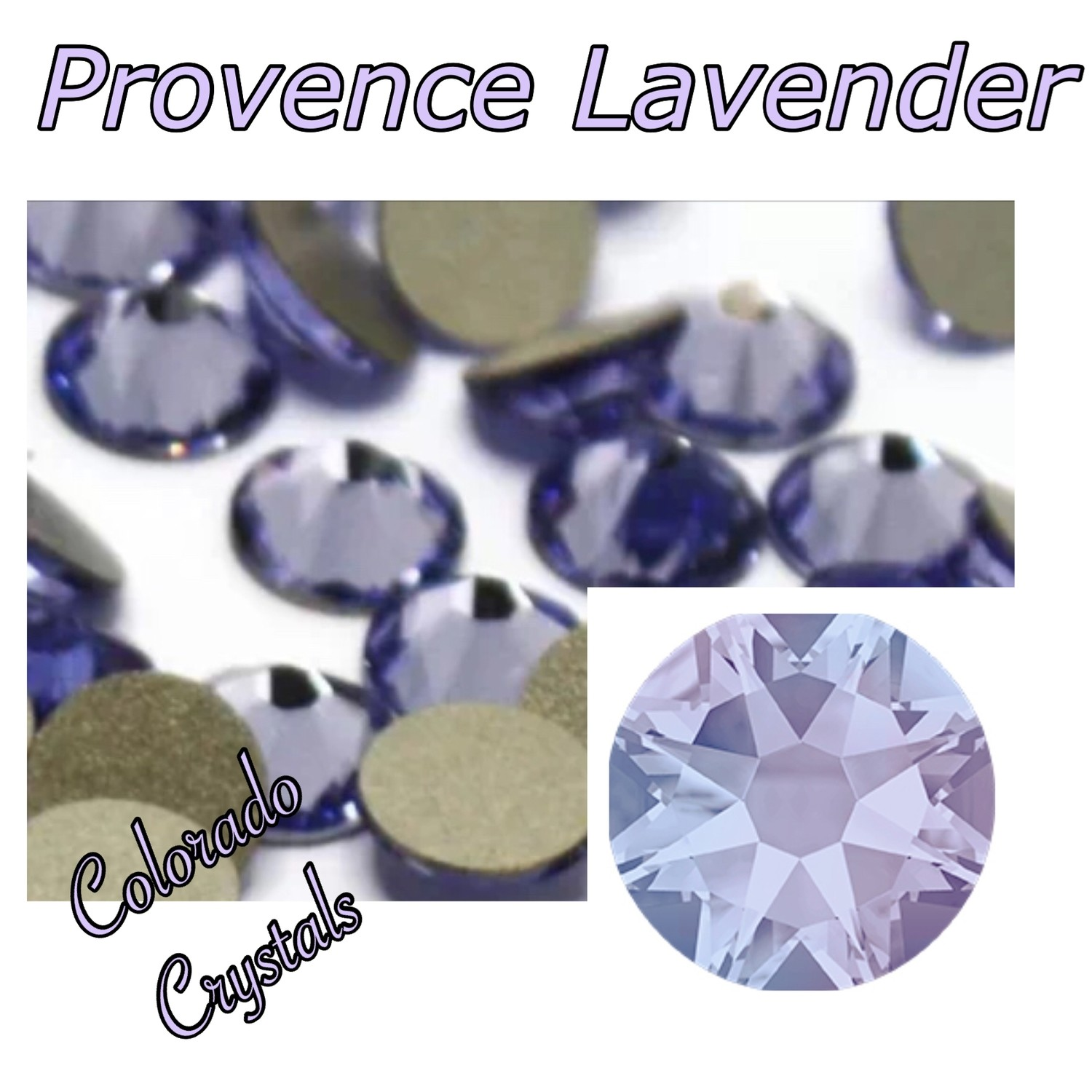 Provence Lavender 16ss 2058 Reduced Price Swarovski Crystals