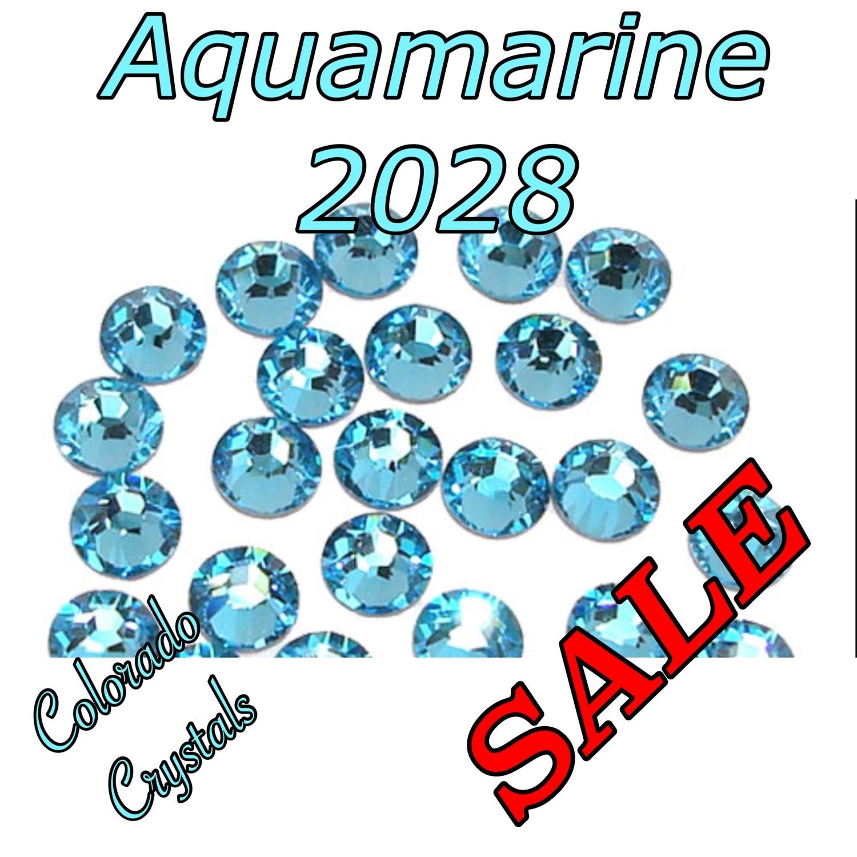 Aqua (Aquamarine) Clearance Swarovski Rhinestones 5ss NAIL ART!