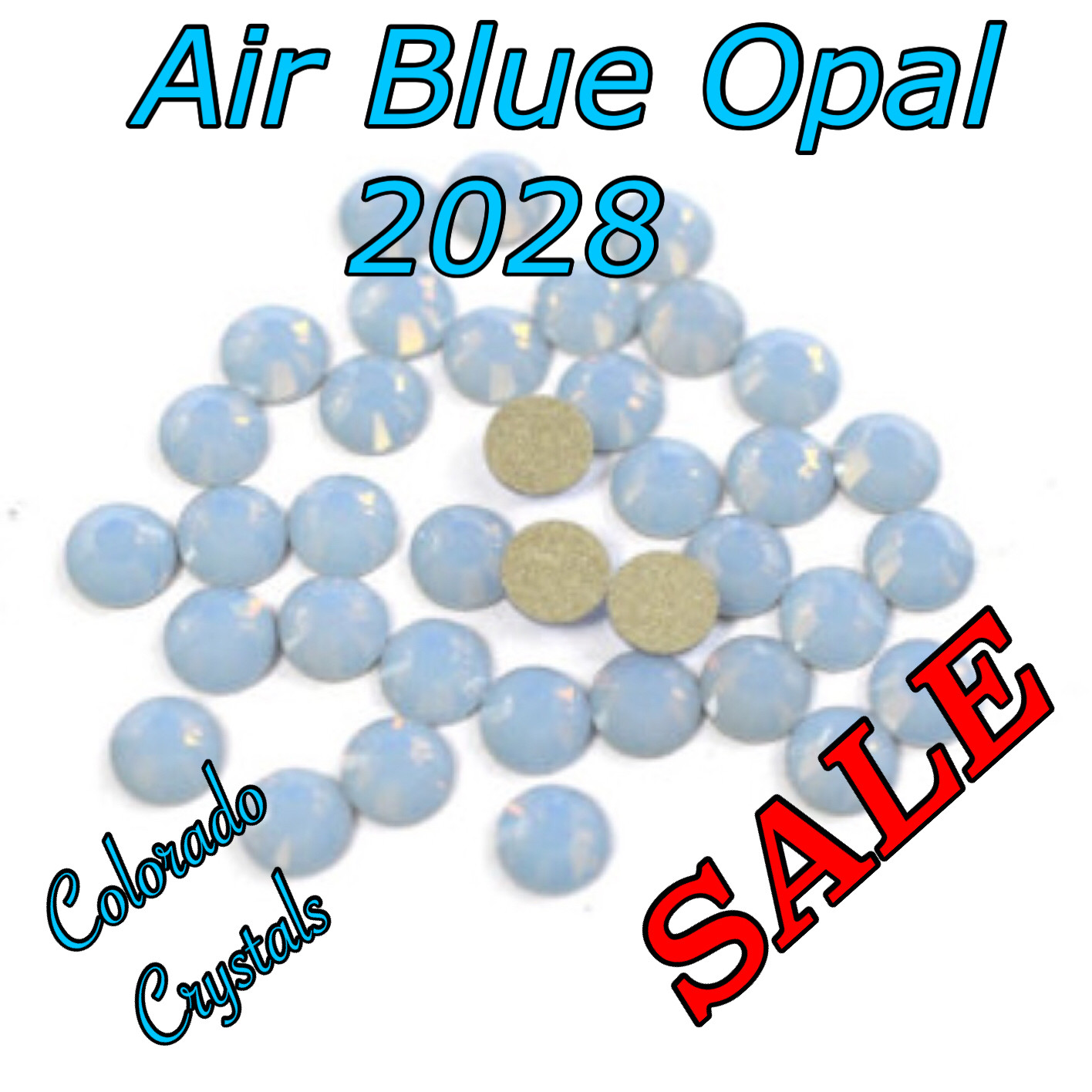 Air Blue Opal Clearance 10gr wholesale pack Swarovski