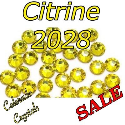 Citrine Clearance Swarovski Rhinestones 5ss