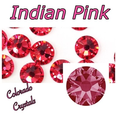 Indian Pink 30ss 2058 Reduced Price Rhinestones Swarovski