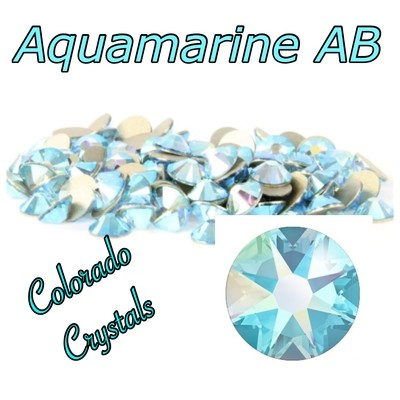 Aqua AB 12ss (Aquamarine AB) 2058 On Sale Swarovski Crystals