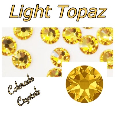 Light Topaz 30ss 2058 Marked Down Bling