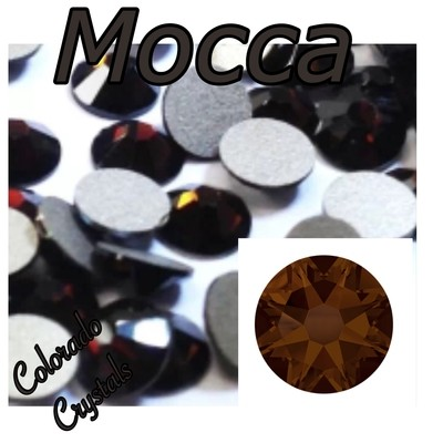Mocca 12ss 2058 Limited Swarovski Price Reduced Brown Crystals