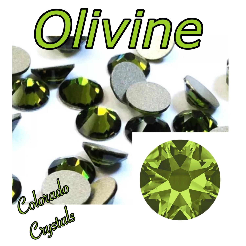 Olivine 16ss 2058 Swarovski Reduced Price Crystals