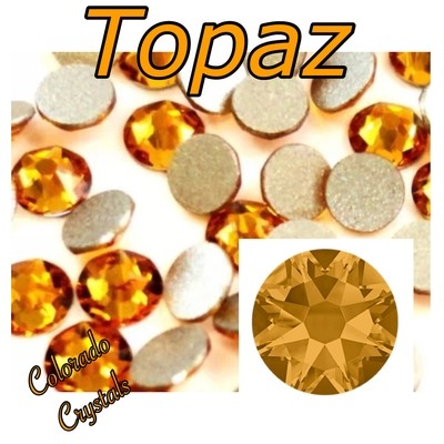 Topaz 12ss 2058 Closeout Gold Rhinestones