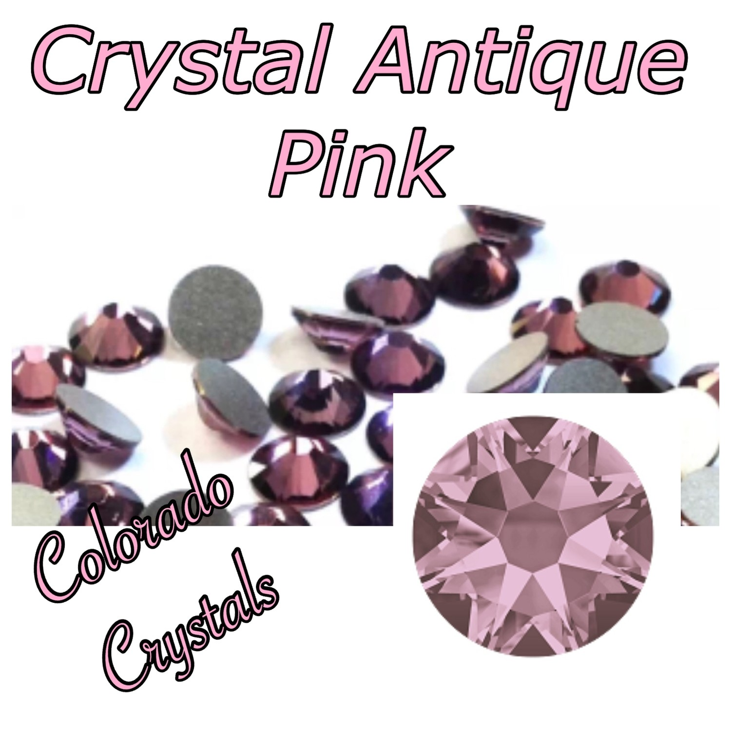 Antique Pink (Crystal) 12ss 2088