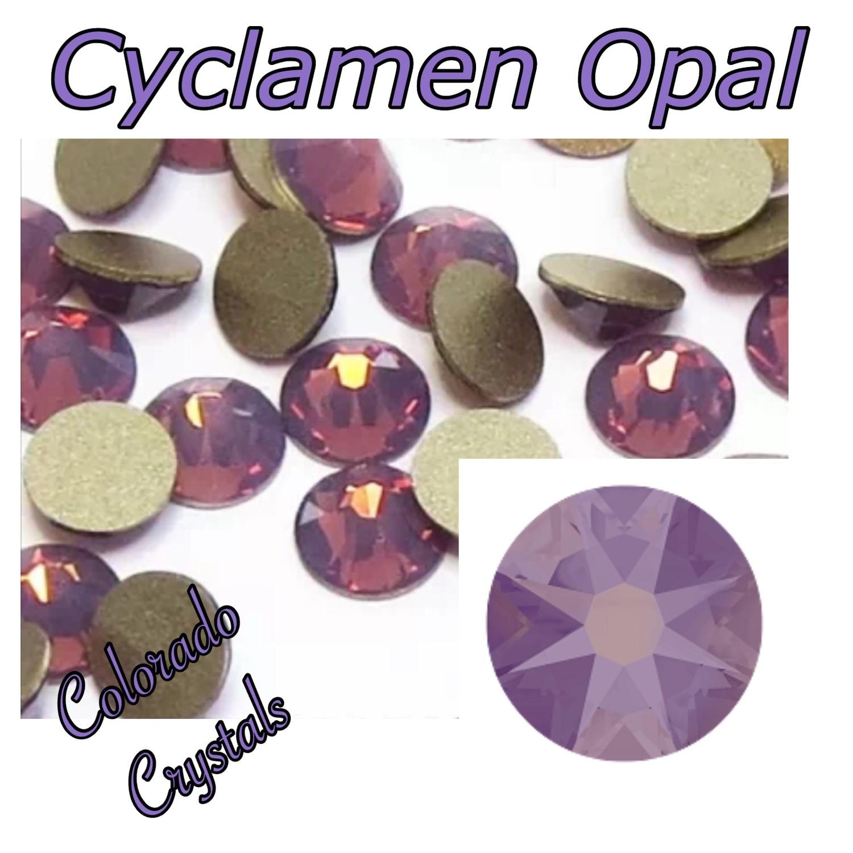 Cyclamen Opal 9ss 2058 Swarovski Discounted Nail Art size