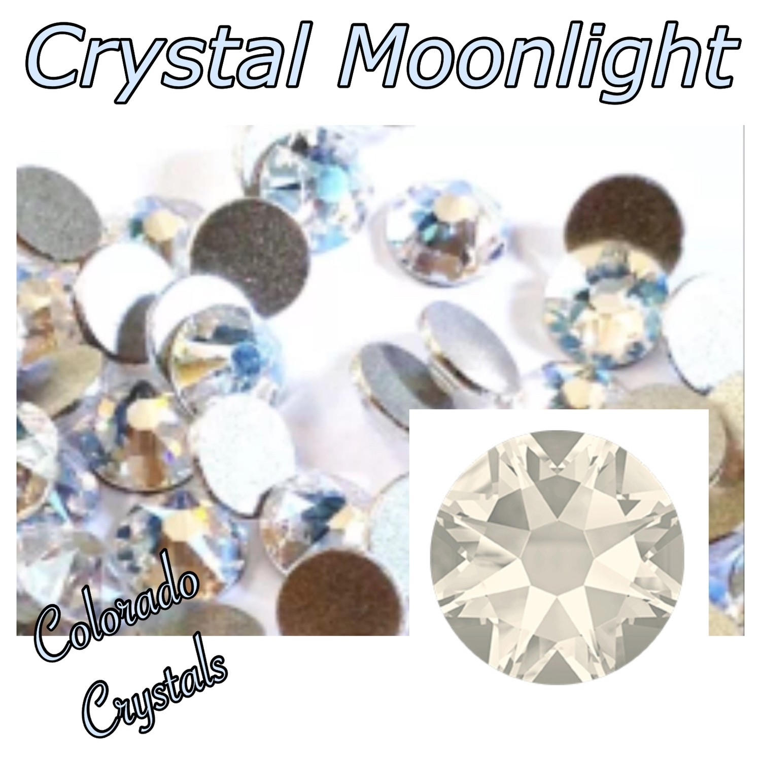 Moonlight (Crystal) 20ss 2088 Limited Rhinestones