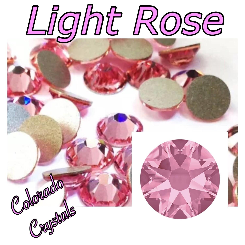 Light Rose 16ss 2088 Pink rhinestones Swarovski