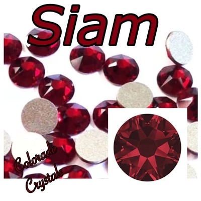 Siam 16ss 2088 Limited Swarovski Crystals Red