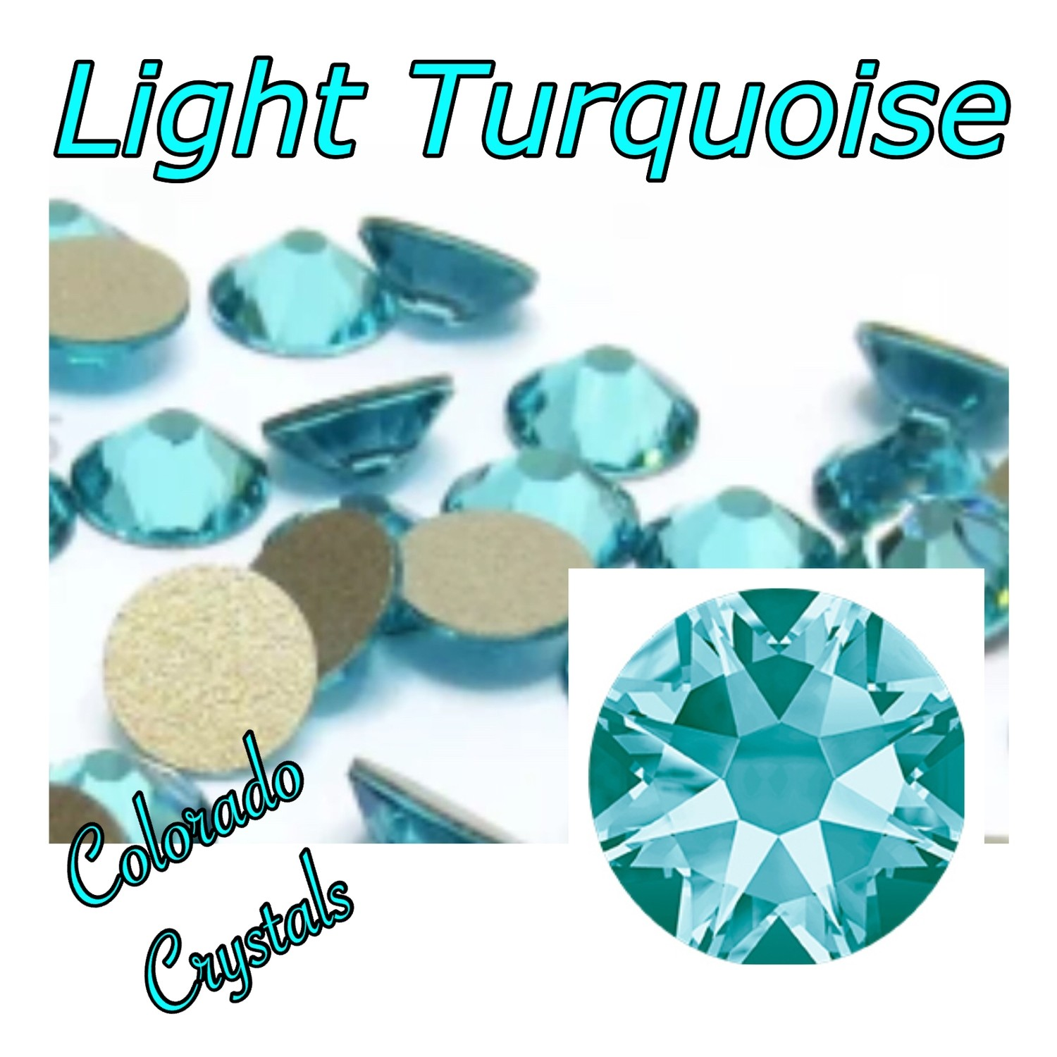 Light Turquoise 16ss 2088 Limited Swarovski
