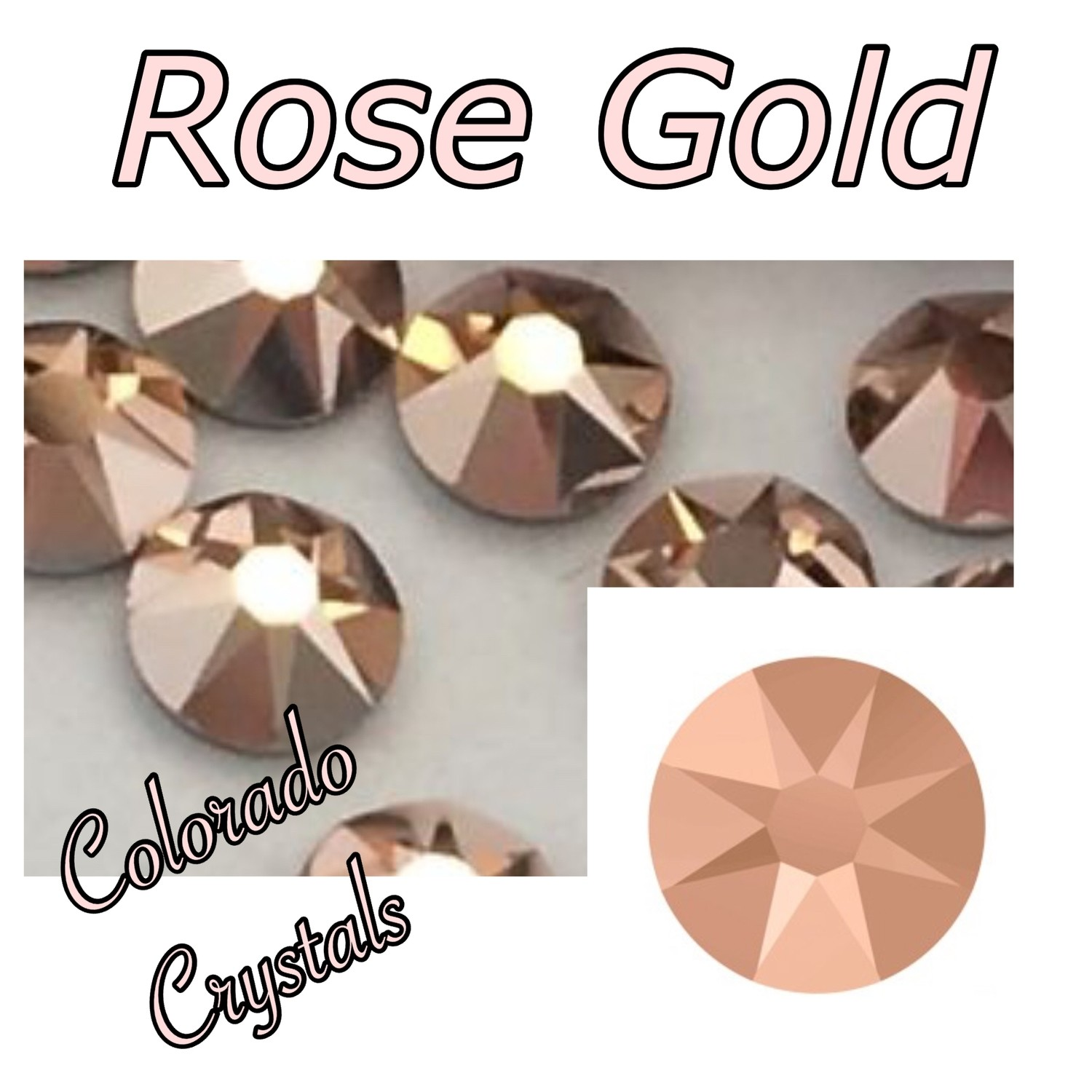 Rose Gold (Crystal) 16ss 2088 Limited Swarovski