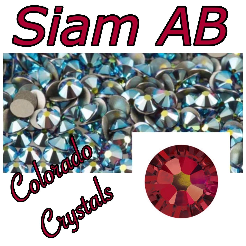 Siam AB 16ss 2088 Swarovski XIRIUS Rose Crystals