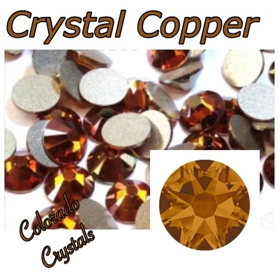 Copper (Crystal) 16ss 2088 Limited Swarovski Rhinestones