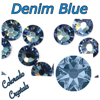 Denim Blue 16ss 2088 Limited Blue Swarovski Crystals