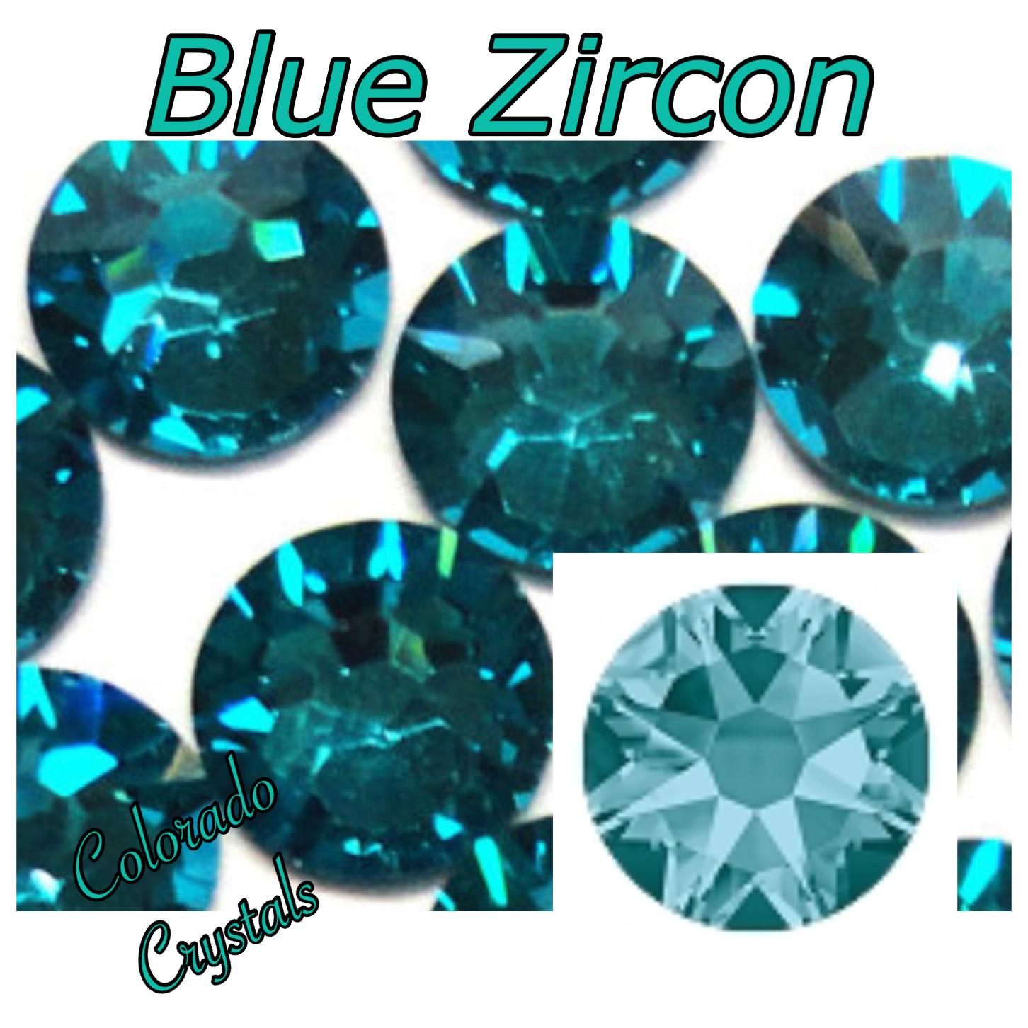 Blue Zircon 30ss 2088 Limited Swarovski Large stone