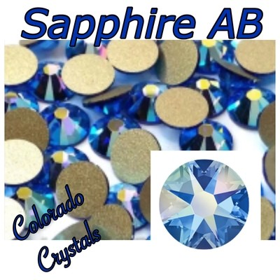 Sapphire AB 7ss 2058 Limited Nail Art