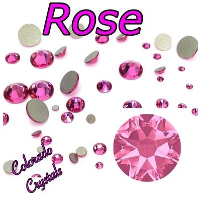 Rose 5ss 2058 Limited Pink Crystals Swarovski