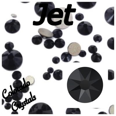 Jet 7ss 2058 Limited Swarovski Rhinestones Nail Art Size
