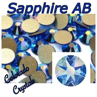 Sapphire AB 20ss 2088 Limited Swarovski Blue Crystals