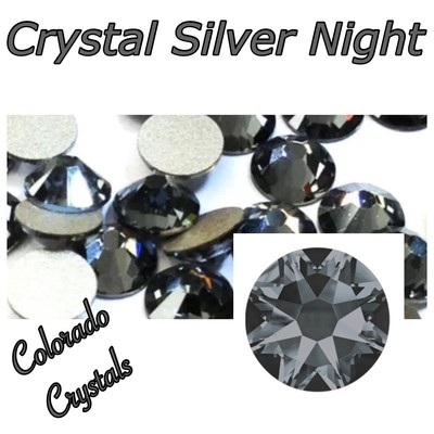 Silver Night (Crystal) 7ss 2058 Limited Swarovski Bling