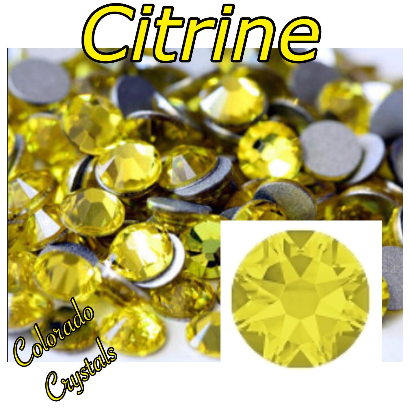 Citrine 9ss 2058 Limited Swarovski