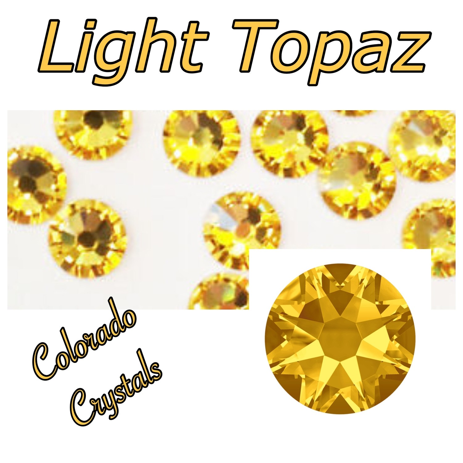 Light Topaz 9ss 2058
