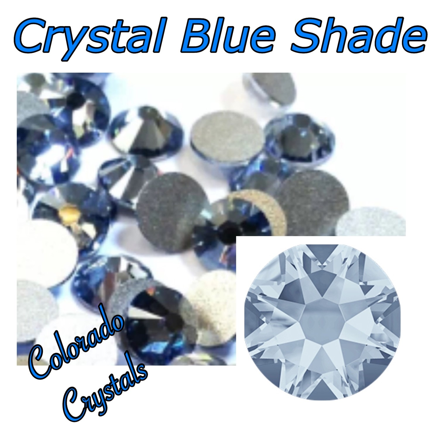 Blue Shade (Crystal) 5ss 2058