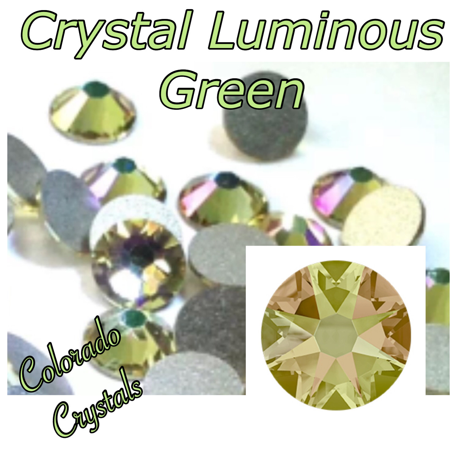 Luminous Green (Crystal) 5ss 2058