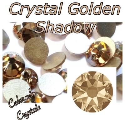 Crystal Golden Shadow 7ss 2058 Limited Swarovski Xillion Rose
