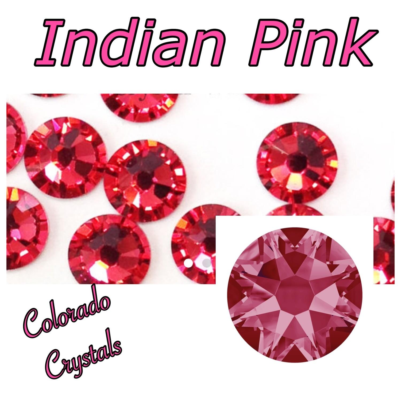 Indian Pink 20ss 2088 Swarovski Rhinestones