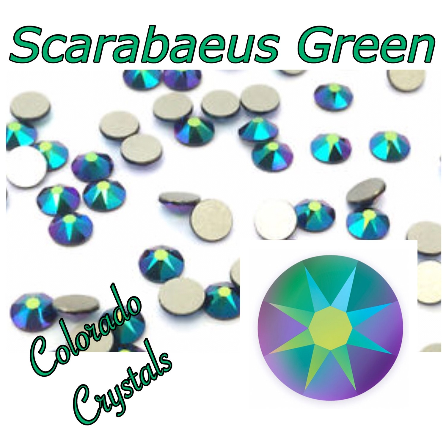 Scarabaeus Green (Crystal) 12s 2088 Limited