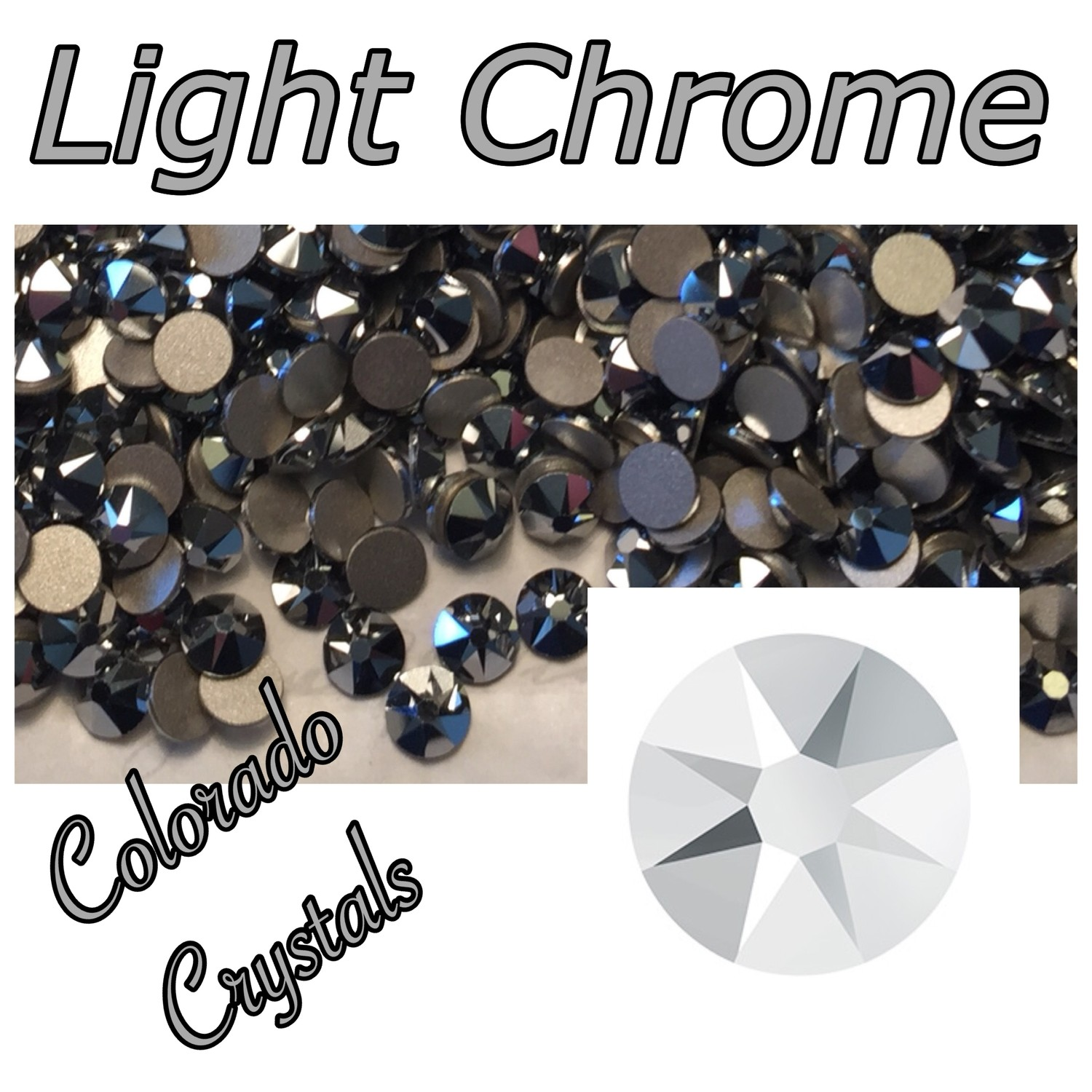 Light Chrome (Crystal) 9ss 2058