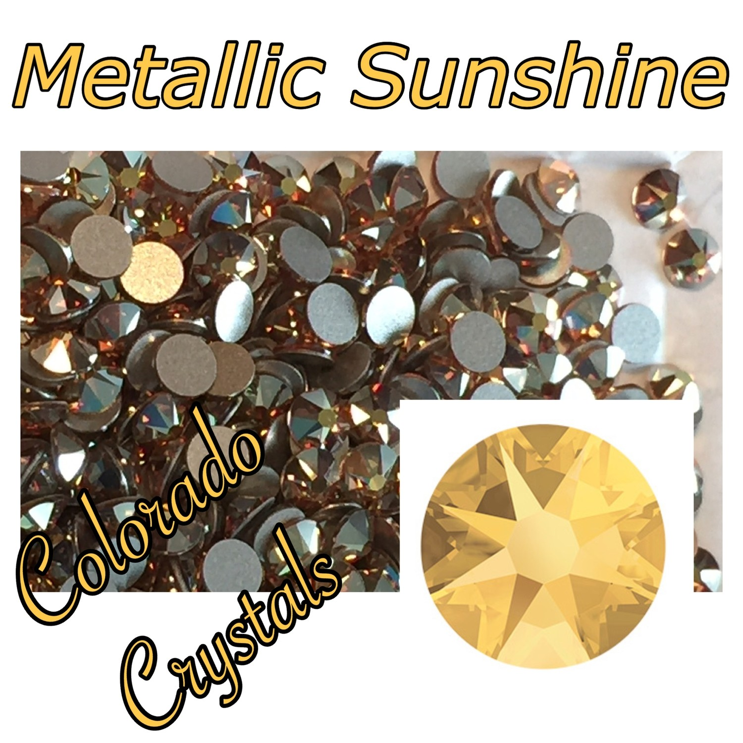 Metallic Sunshine (Crystal) 12ss 2088 Limited