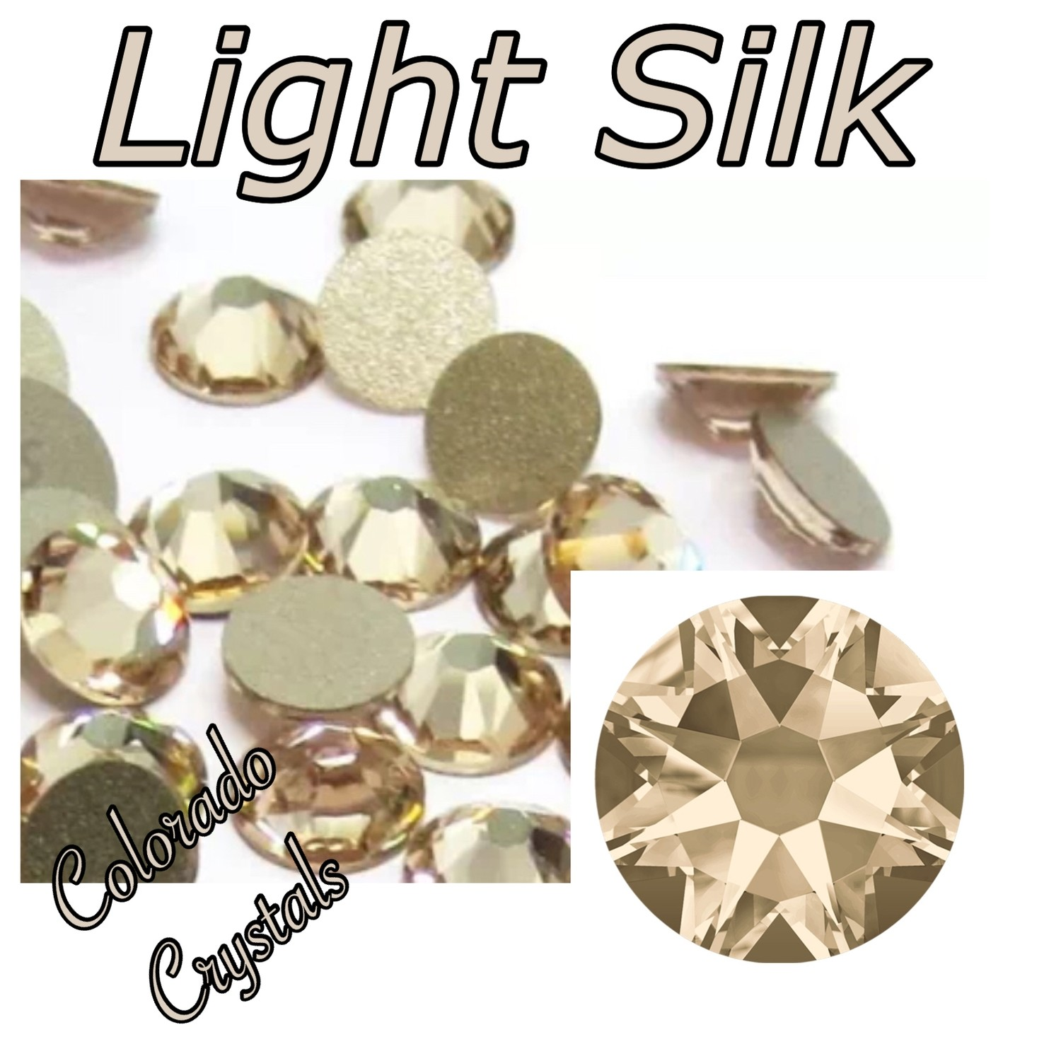 Light Silk 9ss 2058 Limited Swarovski Crystals