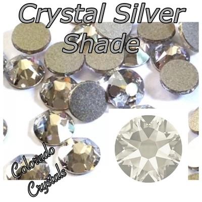 Silver Shade (Crystal) 9ss 2058 Limited Swarovski Nail Size
