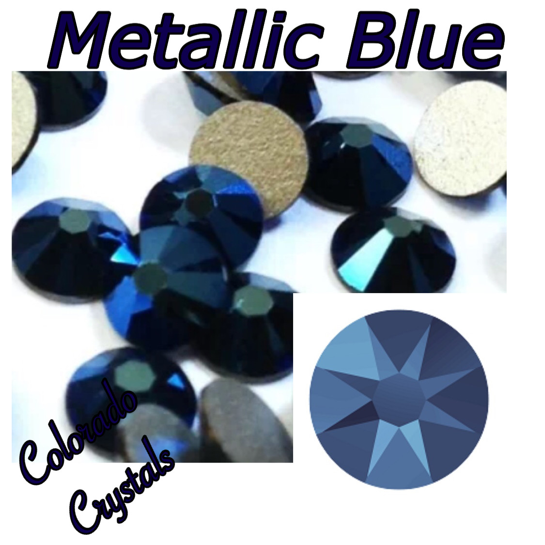 Metallic Blue (Crystal) 16ss 2088