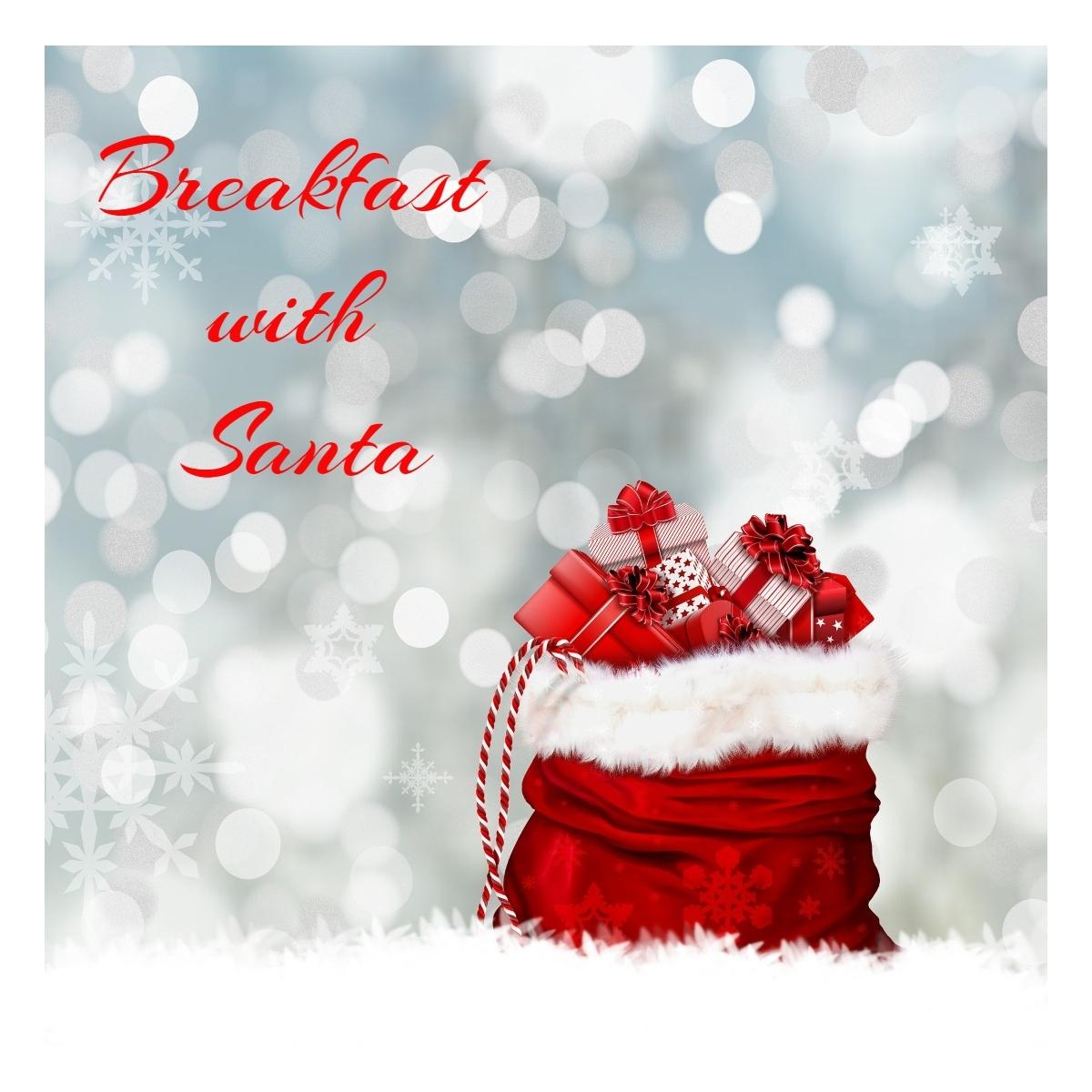 Breakfast with Santa Drive-By Santa-Breakfast