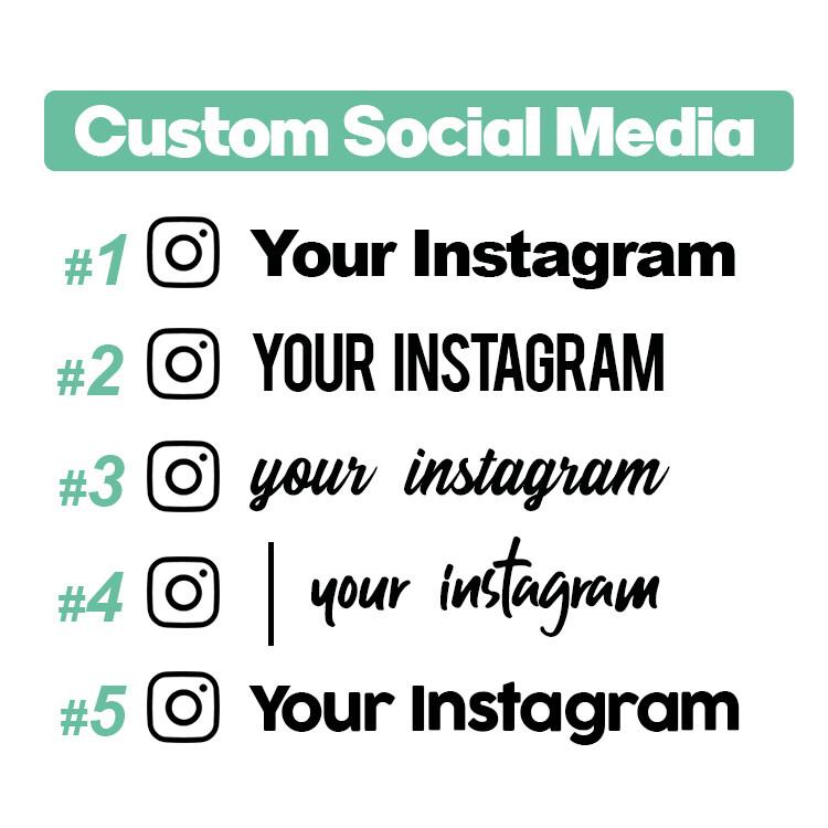 .Custom Instagram