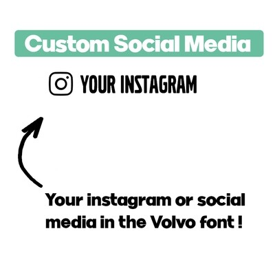 Volvo - Custom Instagram
