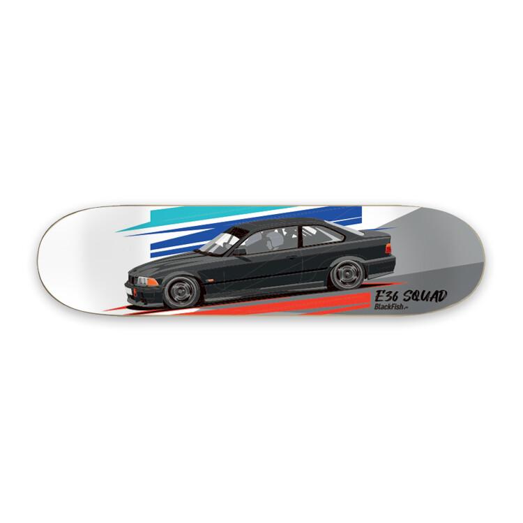 Skateboard Deco Deck - E36 Squad