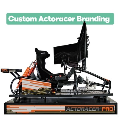 .Custom SIM Racing Actoracer RIG